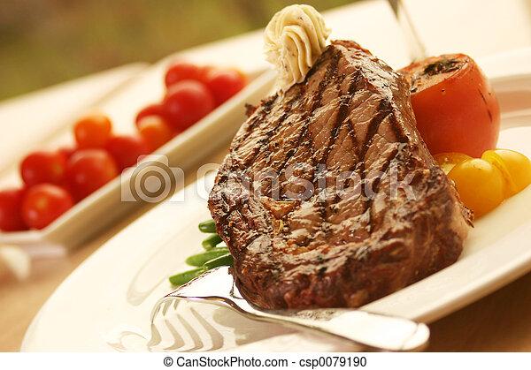 Rib Eye Steak - csp0079190
