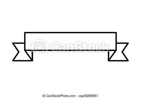 flat design ribbon banner icon vector illustration clipart vector rh canstockphoto ca banner vector free download banner vector free download psd