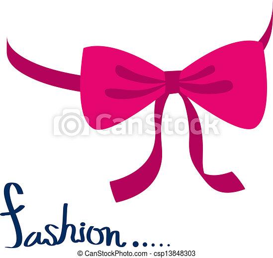 ribbon bow - csp13848303