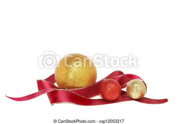Ribbon Christmas decoration - csp12053217