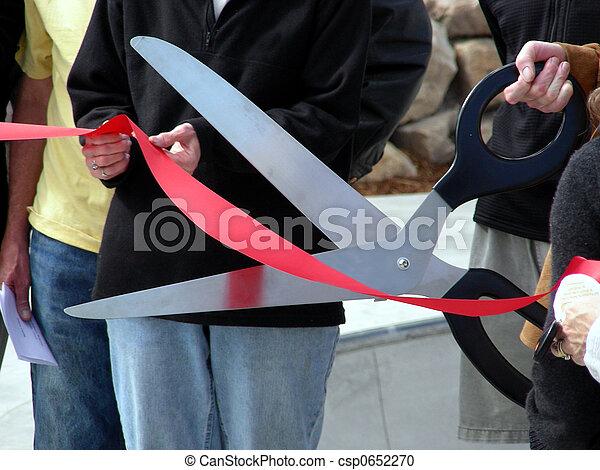 Ribbon Cutting - csp0652270