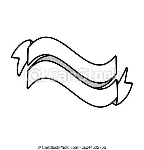 Ribbon Decoration St Patrick Day Vector Illustration Eps 10