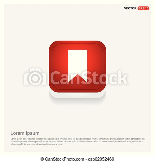 Ribbon Icon - csp62052460