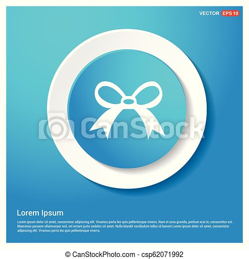 ribbon icon - csp62071992