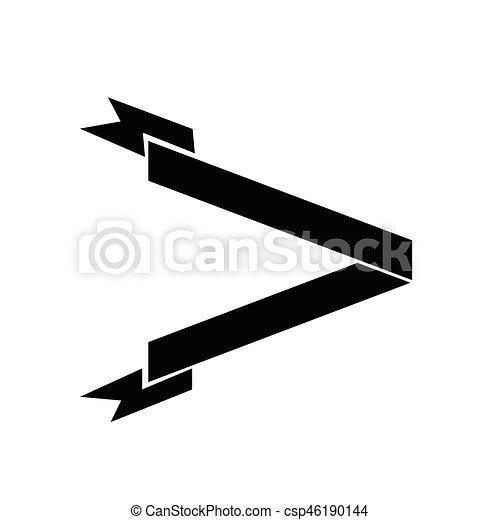 ribbon icon - csp46190144