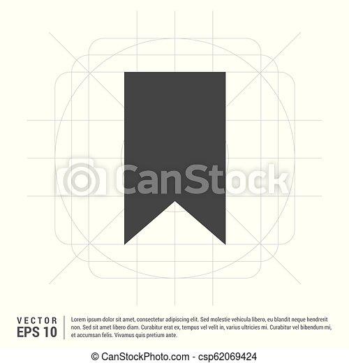 Ribbon Icon - csp62069424