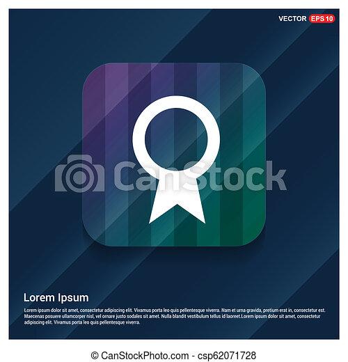 ribbon icon - csp62071728
