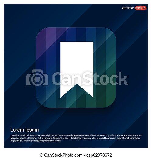 Ribbon Icon - csp62078672