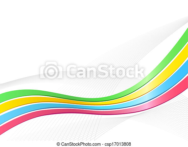 Ribbon wave background - csp17013808