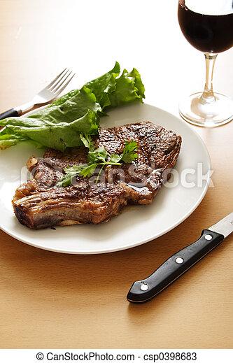 Ribeye steak - csp0398683