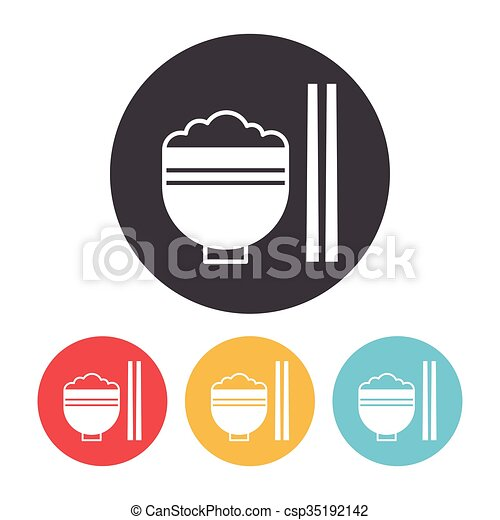 rice icon - csp35192142