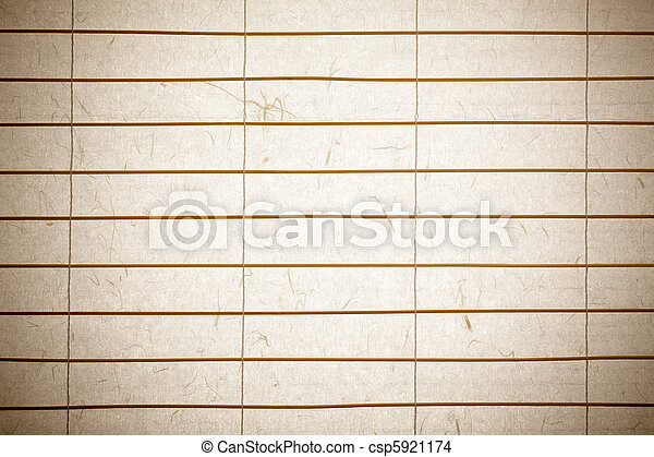 Rice Paper Background Rice Paper Blinds With Twigs Of Bamboo Backlit With Nice Paper Texture Canstock