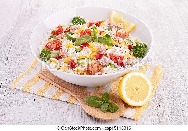 rice salad - csp15116316