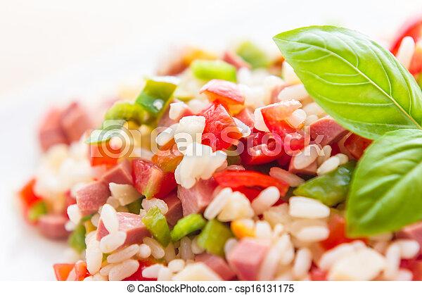 Rice salad - csp16131175