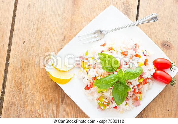 Rice Salad - csp17532112