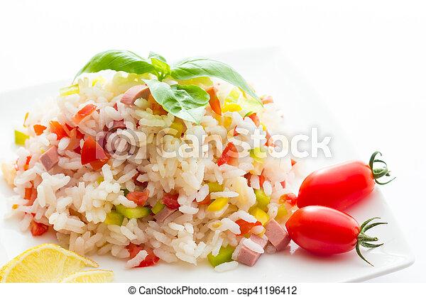 Rice Salad - csp41196412