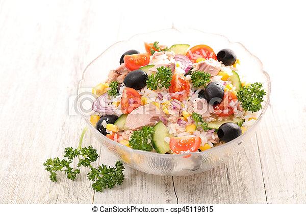 rice salad - csp45119615
