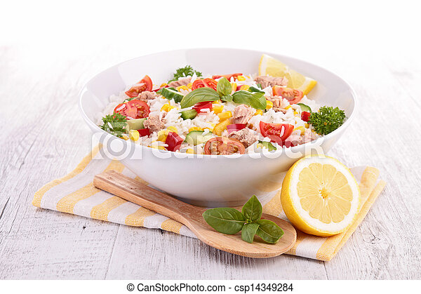 rice salad - csp14349284