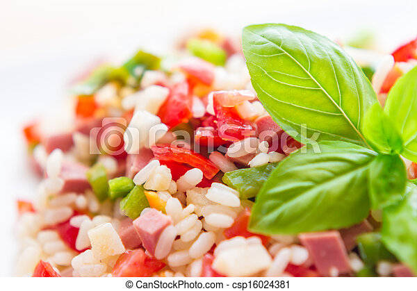 Rice salad - csp16024381