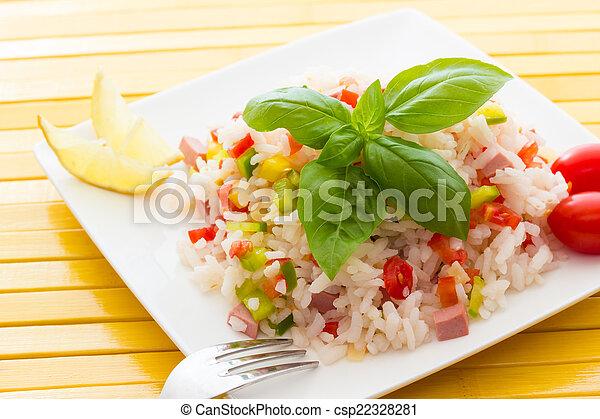 Rice Salad - csp22328281