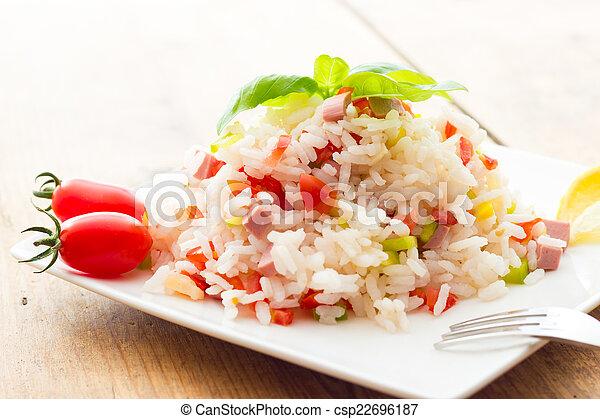 Rice Salad - csp22696187