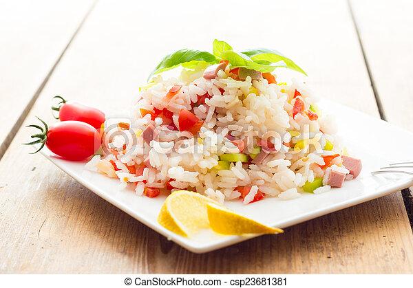 Rice Salad - csp23681381