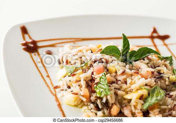 Rice salad - csp29456686