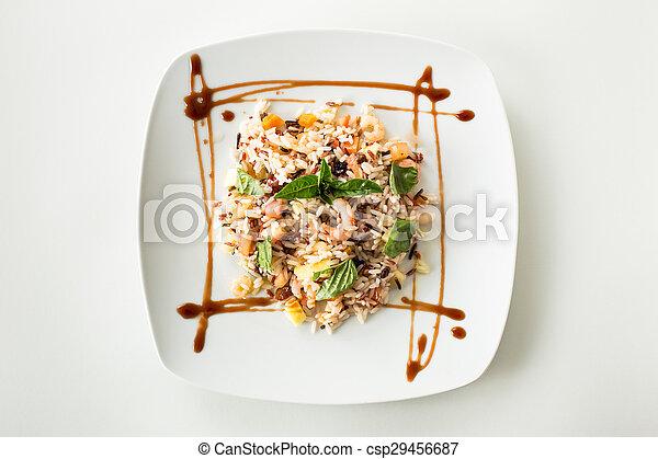 Rice salad - csp29456687