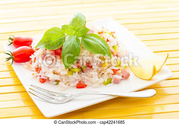 Rice Salad - csp42241685