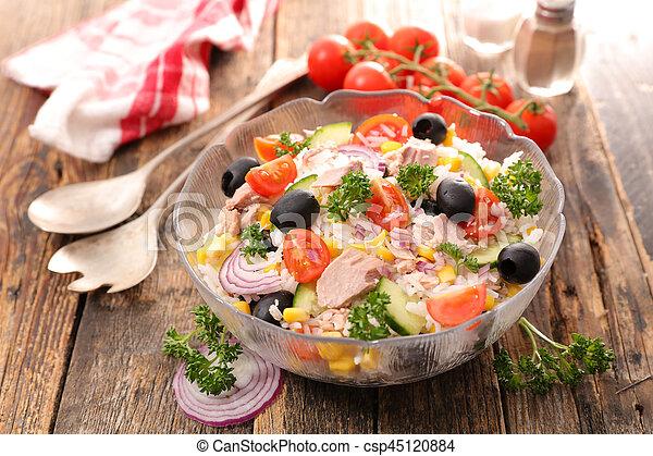rice salad - csp45120884