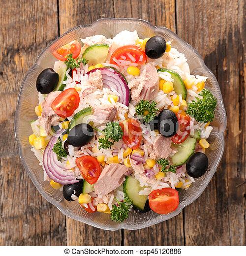 rice salad - csp45120886