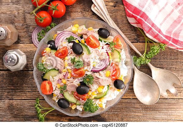 rice salad - csp45120887