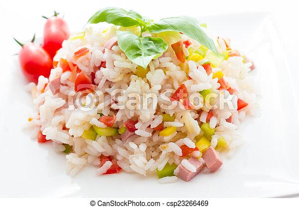 Rice Salad - csp23266469