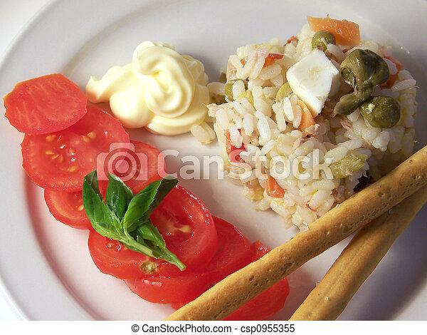 Rice Salad - csp0955355