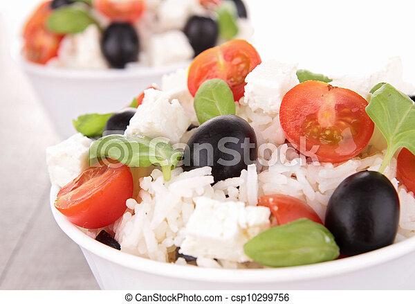 rice salad - csp10299756