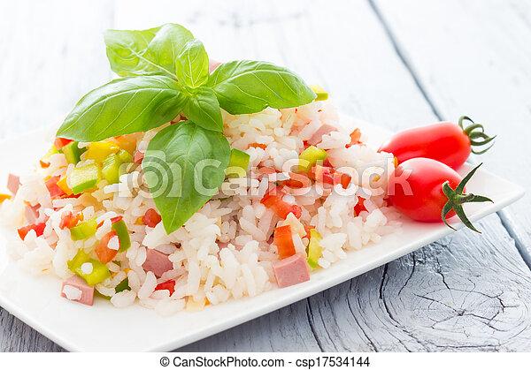 Rice Salad - csp17534144