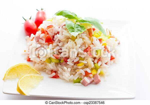 Rice Salad - csp23387546