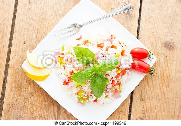 Rice Salad - csp41199346