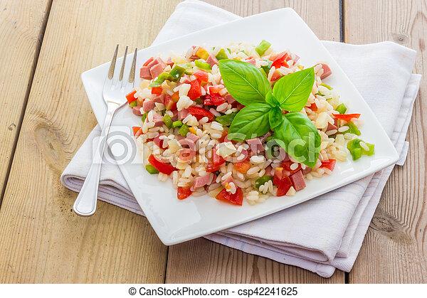 Rice salad - csp42241625