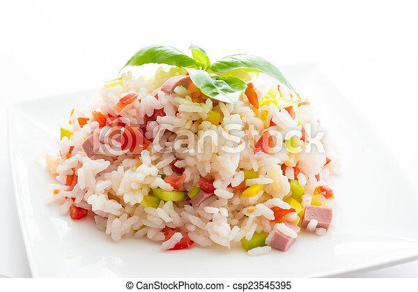 Rice Salad - csp23545395