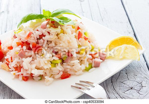 Rice Salad - csp40533094
