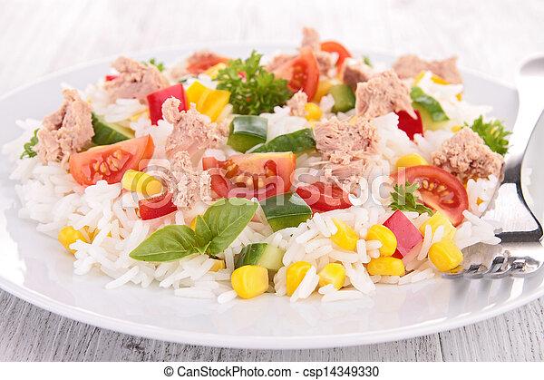 rice salad - csp14349330