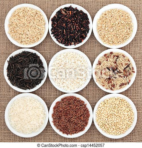Rice Selection - csp14452057