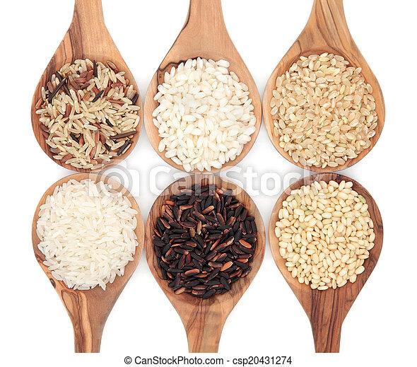 Rice Varieties - csp20431274