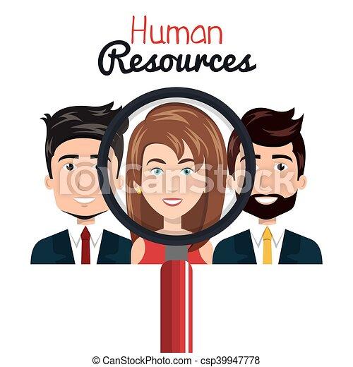 ricerca, risorse umane, isolato - csp39947778