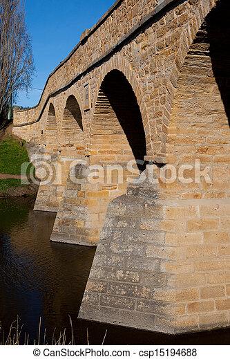 richmond , γέφυρα , ιστορικός  - csp15194688