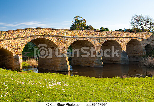 Richmond Historic Bridge - csp39447964