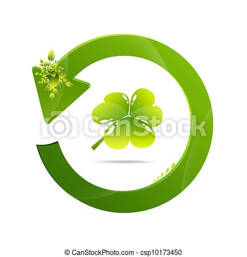riciclare simbolo - csp10173450