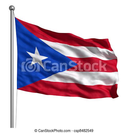 rico bandera puerto