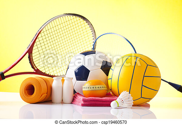 ricreazione, sport, attrezzatura agio - csp19460570